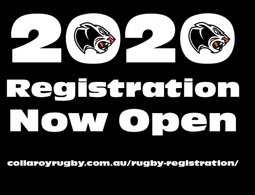 Time to get registered for the 2020 Rugby season.  Registration is open in Rugby…