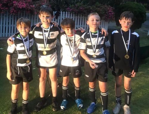 Congratulations to six of our U9s that played their 50th game for the Cougars th…
