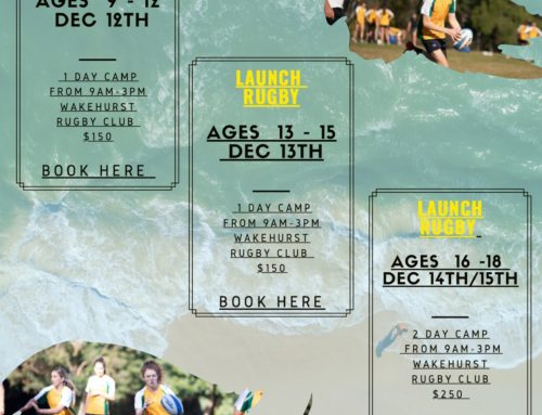 Launch Rugby first camps on the Northern Beaches are not too far away
