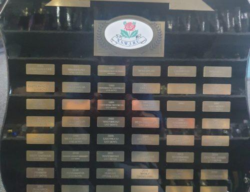 NSWJRU State Championship Trophies (Arch…